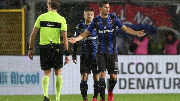 Serie A, due squalificati per un turno