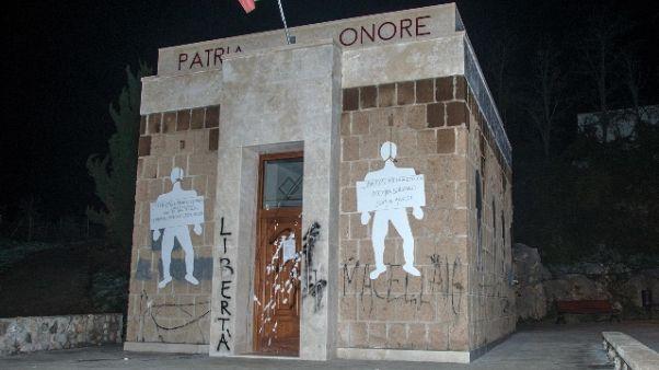 Sacrario fascista: condannato sindaco