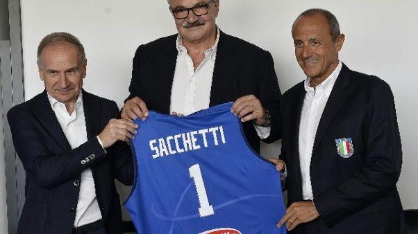 Basket: ct Sacchetti chiama 16 giocatori
