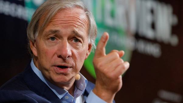 Ray Dalio, founder, co-chief investment officer and co-chairman of Bridgewater Associates, speaks at the 2017 Forbes Under 30 Summit in Boston, Massachusetts, U.S. October 2, 2017.  REUTERS/Brian Snyder