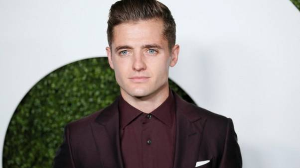 FILE PHOTO - MLS soccer player Robbie Rogers poses at the GQ Men of the Year Party in West Hollywood, California, December 8, 2016. REUTERS/Danny Moloshok