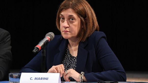 Marini, da Mattarella grande attenzione