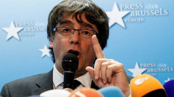 Catalan leader's farmhouse pact to make last stand in Brussels