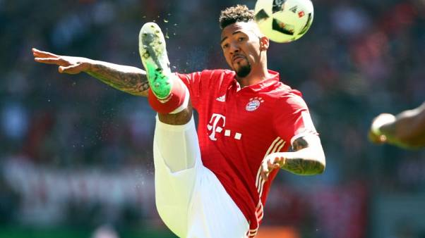 Soccer Football - Bayern Munich v SV Darmstadt 98 - Bundesliga - Allianz Arena, Munich, Germany - 6/5/17 Bayern Munich's Jerome Boateng in action  Reuters / Michael Dalder Livepic