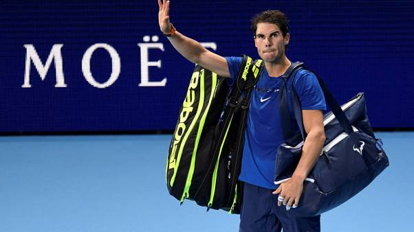 Nadal's season ends in painful defeat by Goffin