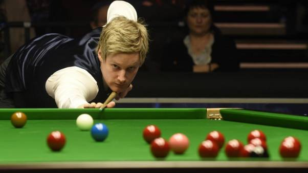 Snooker - BetVictor Welsh Open Final - Motorpoint Arena, Cardiff, Wales - 21/2/16 Neil Robertson in action during the final Mandatory Credit: Action Images / Rebecca Naden Livepic EDITORIAL USE ONLY