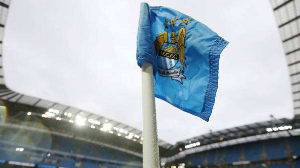 Football - Manchester City v Southampton - Barclays Premier League - Etihad Stadium - 28/11/15 General view of a corner flag before the match Action Images via Reuters / Carl Recine Livepic EDITORIAL USE ONLY