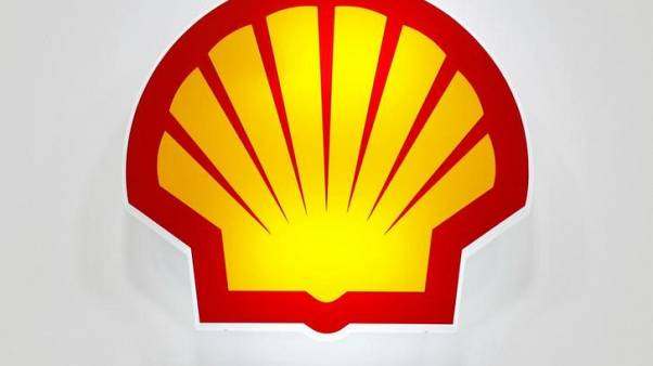 FILE PHOTO: Logo of Shell is seen at the 20th Middle East Oil & Gas Show and Conference in Manama, Bahrain, March 7, 2017. REUTERS/Hamad I Mohammed/File Photo