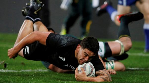 Taylor replaces Coles in All Blacks line-up for Scotland test