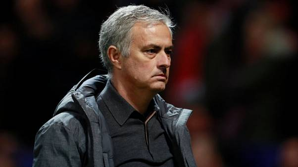 Soccer Football - Champions League - Manchester United vs S.L. Benfica - Old Trafford, Manchester, Britain - October 31, 2017   Manchester United manager Jose Mourinho after the match    Action Images via Reuters/Jason Cairnduff