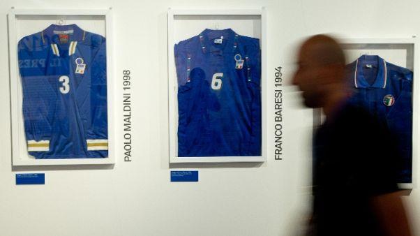Storia della Nazionale, mostra a Milano