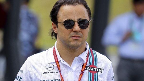 F1: Massa, lascio a testa alta