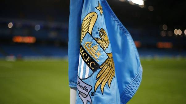 Football Soccer - Manchester City v Hull City - Capital One Cup Quarter Final - Etihad Stadium - 1/12/15 General View of corner flag at the Etihad Stadium Reuters / Phil Noble Livepic EDITORIAL USE ONLY.