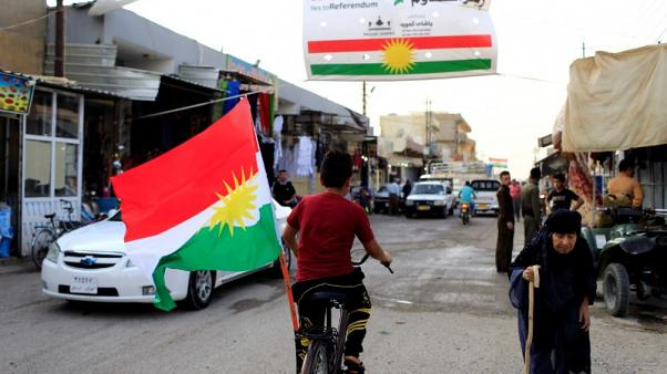 Kurds displaced by Iraq advance fear reprisals if they return
