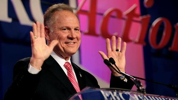 Sixth woman accuses U.S. Senate candidate Moore of sexual misconduct