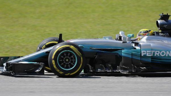 F1: Brasile, Hamilton domina 2/e libere