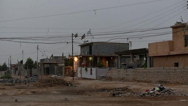 Houses provided for Shi'ite Muslim pilgrims walking to Kerbala, stand on the outskirt of Kerbala, Iraq, November 2, 2017. REUTERS/Abdullah Dhiaa Al-deen