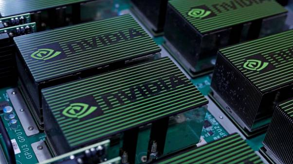 Nvidia set to open at record on soaring Volta chip demand