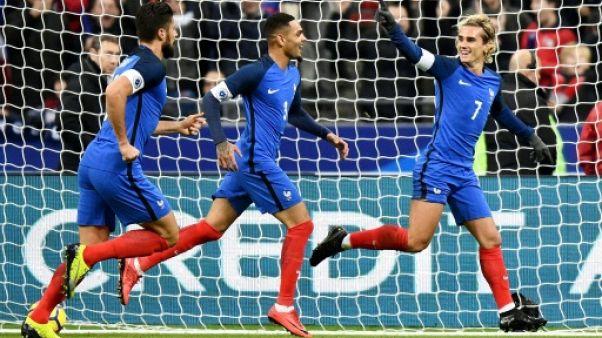 Amical: la France domine le pays de Galles 2-0