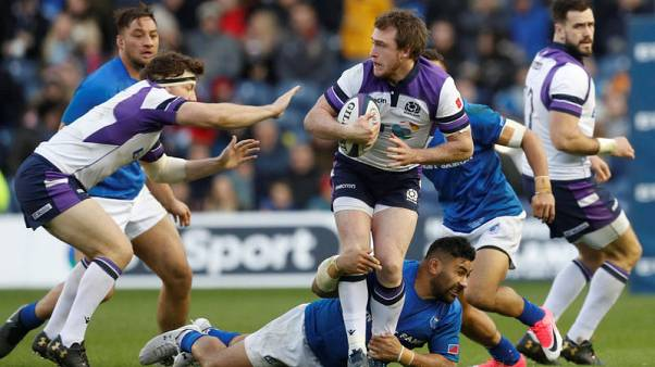 Scotland edge Samoa in try-fest at Murrayfield