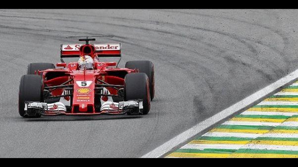 F1: Brasile, Vettel dispiaciuto