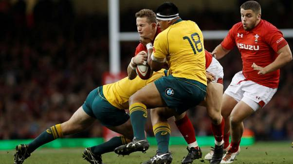 Australia extend dominance over Wales with four-try win