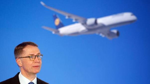 FILE PHOTO - German airline Lufthansa CFO Ulrik Svensson attends the company's annual news conference in Munich, Germany, March 16, 2017. REUTERS/Michaela Rehle