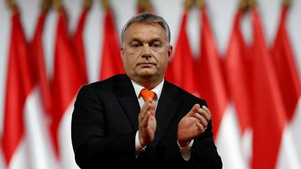 Hungary's Orban accepts party endorsement to fight next election