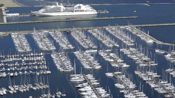 Rompe ormeggi nave da collisione mortale