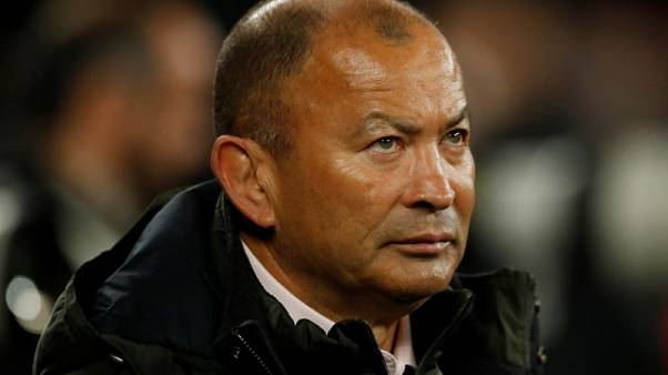Rugby Union - Autumn Internationals - England vs Argentina- Twickenham Stadium, London, Britain - November 11, 2017   England head coach Eddie Jones after the match   Action Images via Reuters/Andrew Boyers