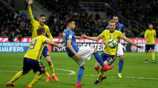 Sweden qualify for World Cup after goalless draw with Italy