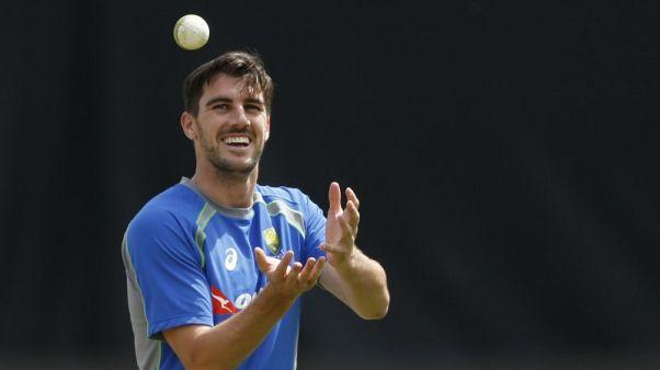 FILE PHOTO - Britain Cricket - Australia Nets - Edgbaston - June 9, 2017 Australia's Pat Cummins during nets  Action Images via Reuters / Andrew Boyers