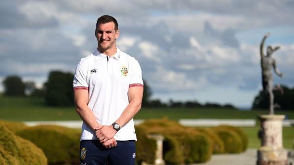 FILE PHOTO: Rugby Union - British & Irish Lions Training & Press Conference - Carton House, Co. Kildare, Ireland - 22/5/17 British & Irish Lions Sam Warburton poses for a photo Reuters  / Clodagh Kilcoyne