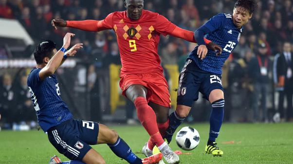 Lukaku breaks Belgium scoring record after terror scare