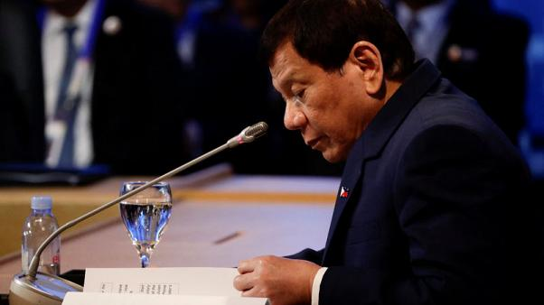 Philippines president says China agrees to work on South China Sea code