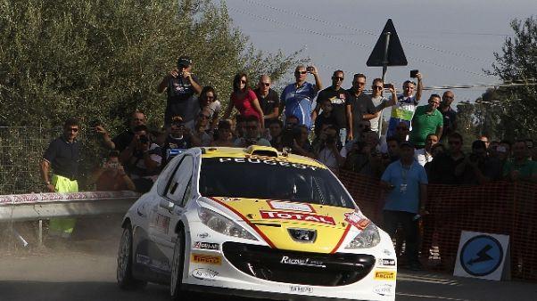 Rally: Andreucci festeggia la 'stella'