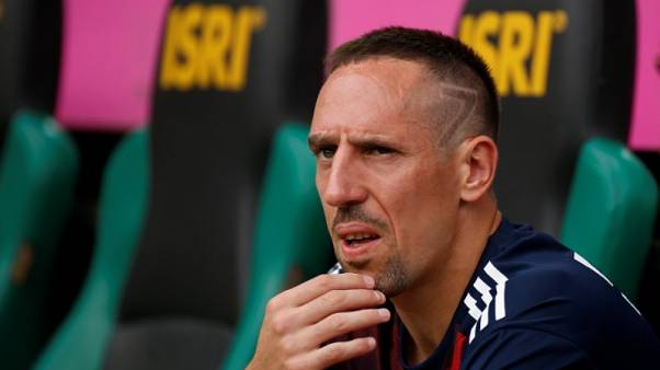 Soccer Football - SV Werder Bremen v FC Bayern Munich - Telekom Cup 2017 Final - Monchengladbach, Germany - July 15, 2017   Bayern Munich's Franck Ribery on the bench before the match   REUTERS/Leon Kuegeler