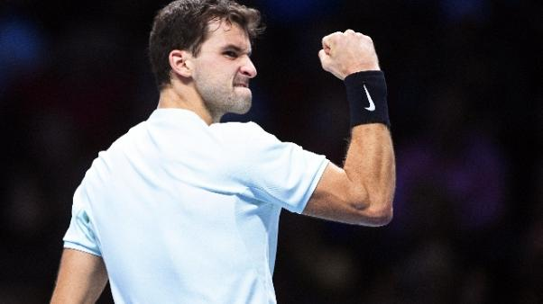 Atp Finals, Dimitrov in semifinale