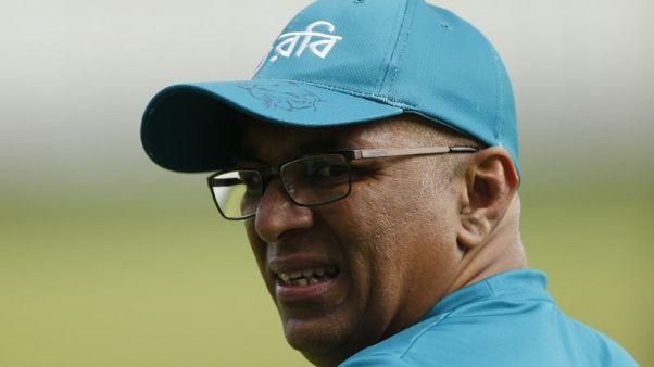 Britain Cricket - Bangladesh Nets - Edgbaston - June 13, 2017 Bangladesh's Coach Chandika Hathurusingha during nets  Action Images via Reuters / Andrew Boyers Livepic