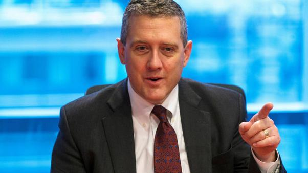FILE PHOTO: St. Louis Fed President James Bullard speaks about the U.S. economy during an interview in New York February 26, 2015. REUTERS/Lucas Jackson/File Photo