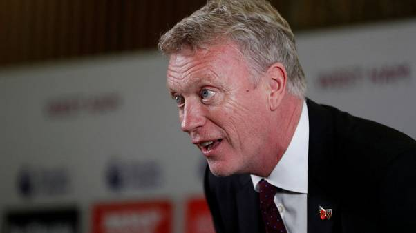 FILE PHOTO - Soccer Football - West Ham United - David Moyes Press Conference - London Stadium, London, Britain - November 8, 2017. West Ham United manager David Moyes during the press conference. Action Images via Reuters/John Sibley