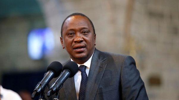 Kenya's President Uhuru Kenyatta delivers a speech during a ceremony at the All Saints Anglican Church in Nairobi, Kenya October 5, 2017. REUTERS/Baz Ratner
