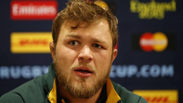 FILE PHOTO: Rugby Union - South Africa Press Conference - Surrey Sports Park, Guildford, Surrey - 28/10/15 South Africa's Duane Vermeulen during a press conference Action Images via Reuters / Andrew Boyers Livepic
