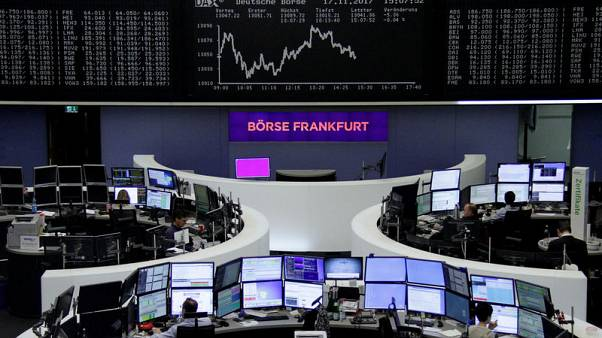 German losses weigh on European shares as government talks collapse
