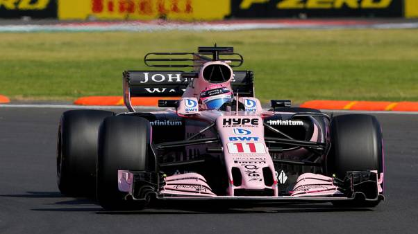 FILE PHOTO - F1 - Formula 1 - Mexican Grand Prix 2017 - Mexico City, Mexico - October 28, 2017  Force India's Sergio Perez in action during third practice  REUTERS/Henry Romero