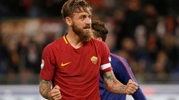 Roma deprived of another away win after De Rossi loses his head
