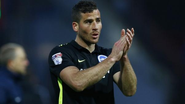 FILE PHOTO - Britain Soccer Football - Brentford v Brighton & Hove Albion - Sky Bet Championship - Griffin Park - 5/2/17 Brighton's Tomer Hemed applauds the fans at the end Mandatory Credit: Action Images / Peter Cziborra