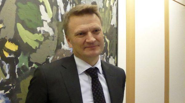 إيجيل ماتسن نائب محافظ البنك المركزي النرويجي. صورة من أرشيف رويترز.
