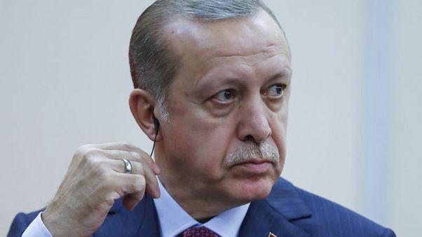 اردوغان يجدد انتقاداته للبنك المركزي التركي