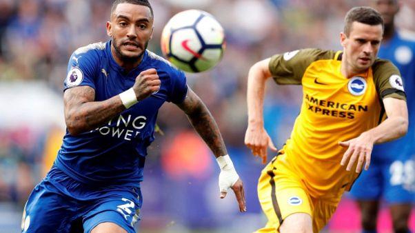 Football Soccer - Premier League - Leicester City vs Brighton & Hove Albion - Leicester, Britain - August 19, 2017   Leicester City's Danny Simpson in action   Action Images via Reuters/John Sibley